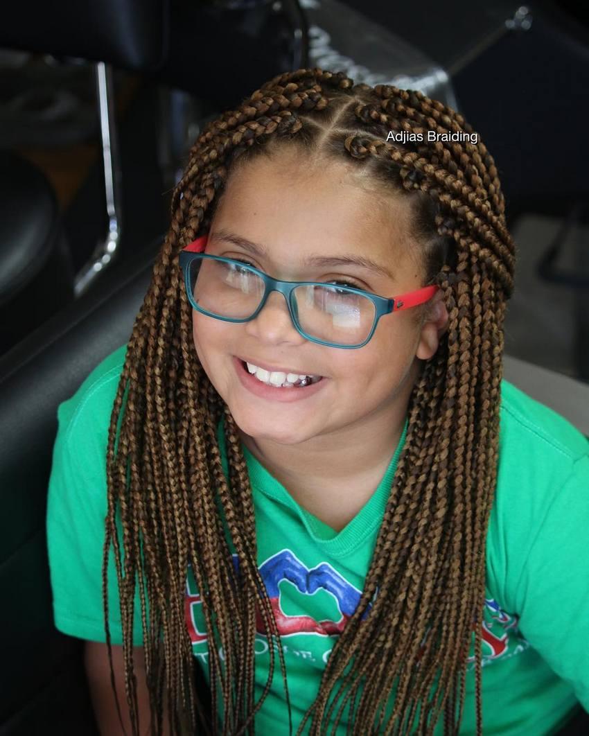 Box Braids Hairstyles For Kids 2018 Kids Hairstyle Haircut Ideas