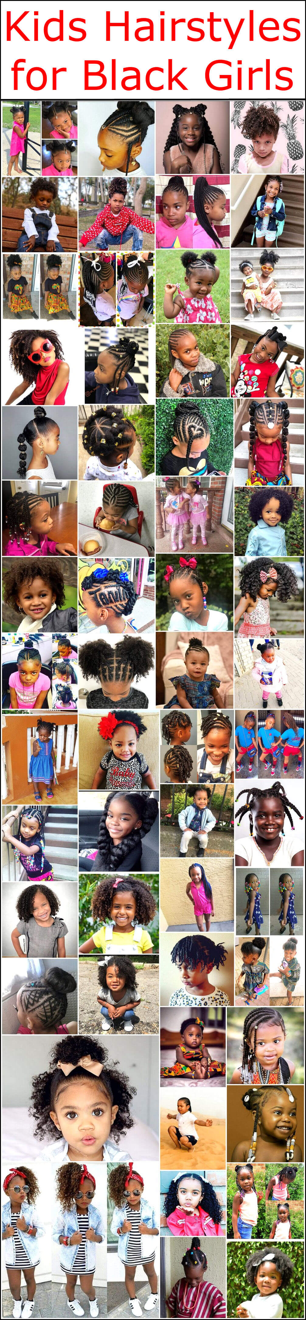 Kids Hairstyles For Black Girls Kids Hairstyle Haircut