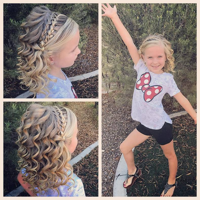Little White Girl Braids Kids Hairstyle Haircut Ideas Designs And Diy The saying that short hairstyles lack versatility when it comes to styling. kids hairstyle haircut ideas designs and diy
