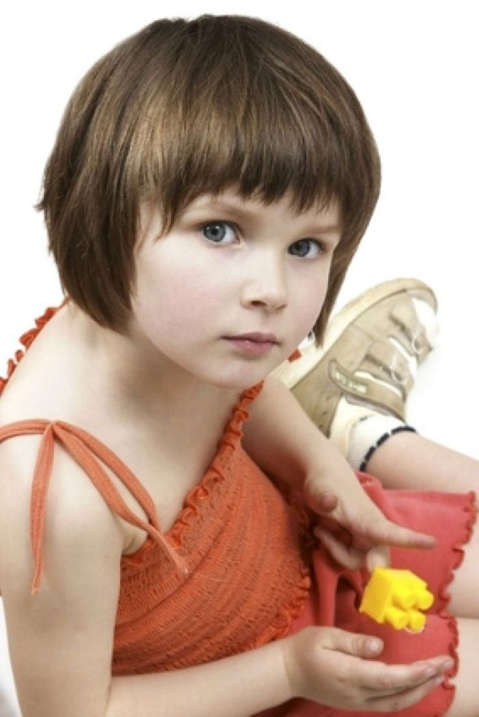 Short Hairstyles For Little Girl Kids Hairstyle Haircut