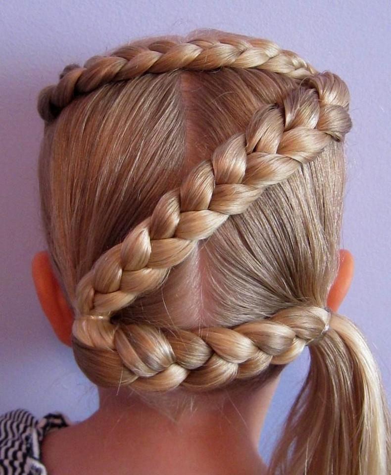 Little White Girl Braids   Kids Hairstyle Haircut ideas ...