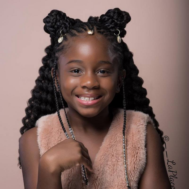 Hairstyles for little black girls — photo 6